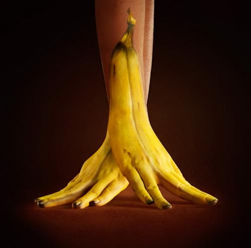 Проект для рекламы «You're in good hands» (9 фото)
