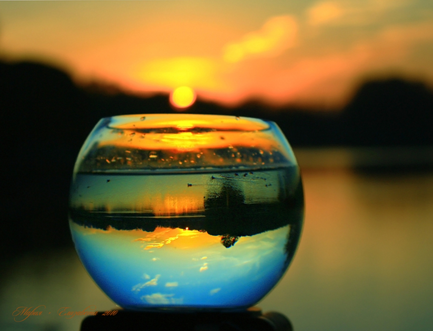 Статусы про отражение в воде