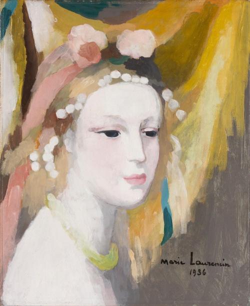 Artworks by Marie Laurencin (1885 - 1956) (77 работ)