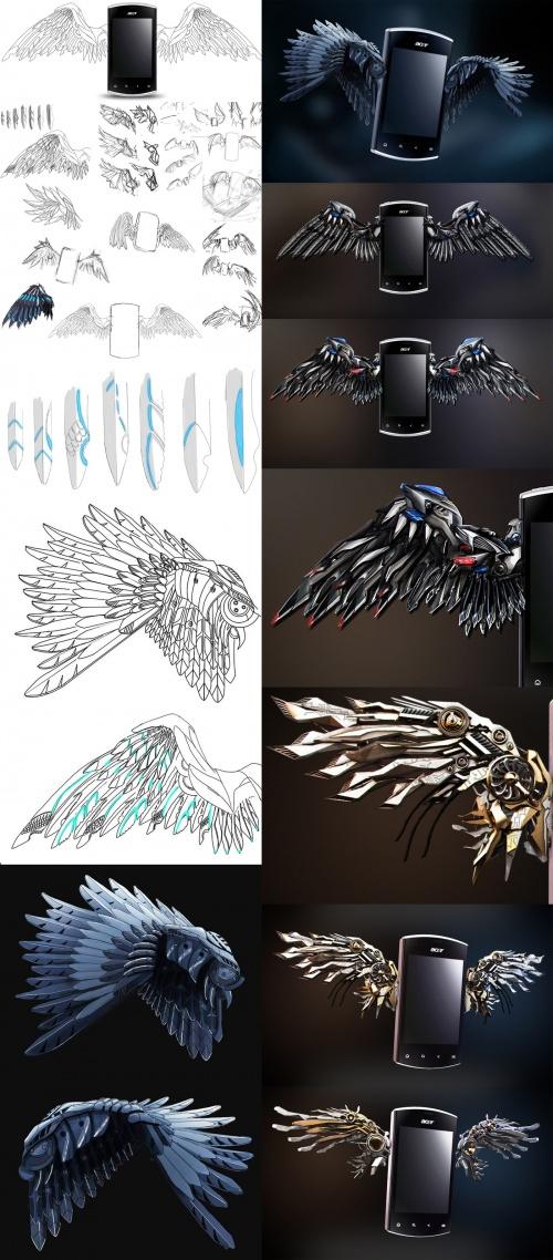 3D художник Александр Кусков (157 работ)