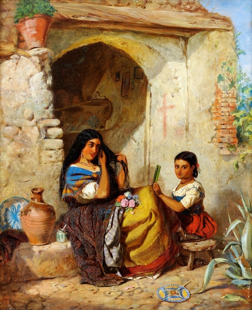 Мать и дитя (работ)