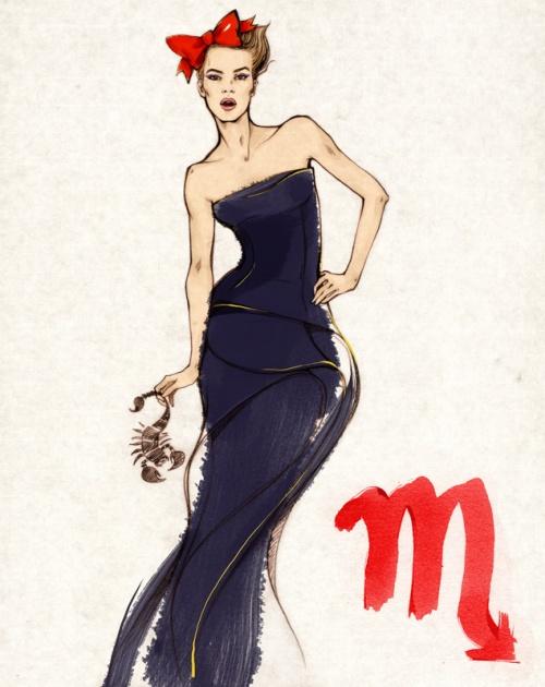 Alena Lavdovskaya - Fashion Ilustrator (196 работ)