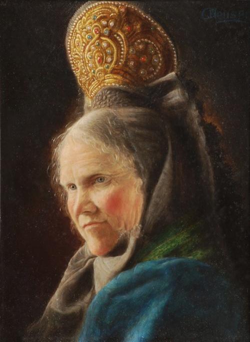 Немецкий художник Carl Heuser (1827-1892) (26 работ)