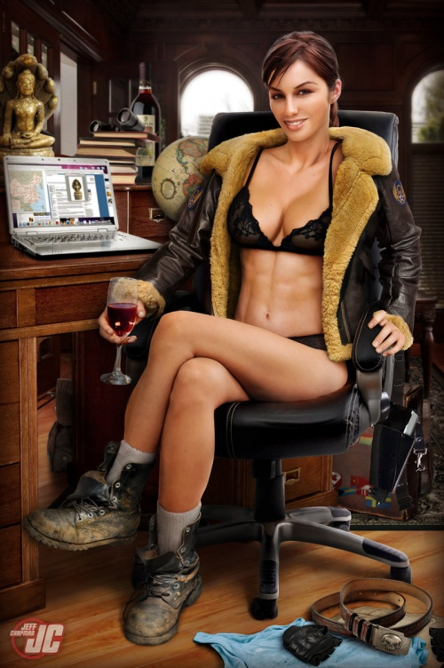 Digital Woman by Jeff Chapman (105 работ)