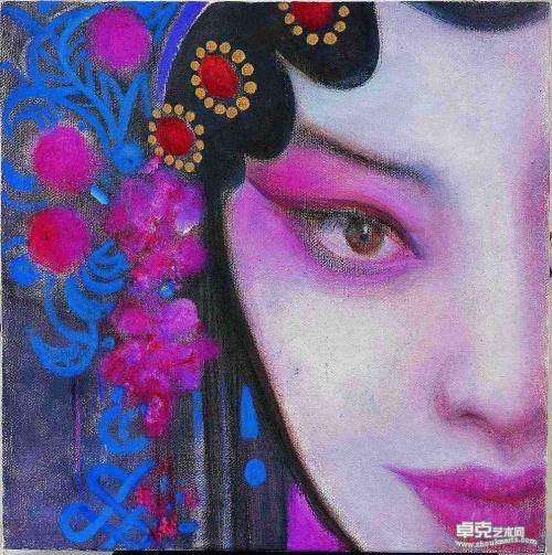 «ПЕКИНСКАЯ ОПЕРА». Синь Цзянцзянь (Xing Jianjian) (15 работ)