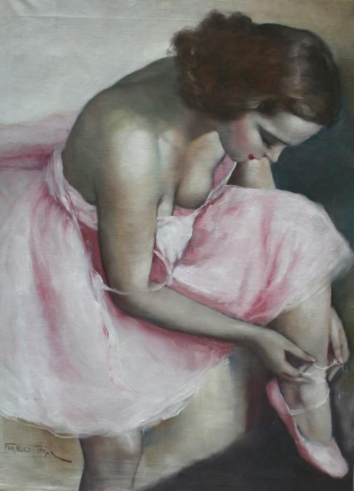 Pal Fried - Hungarian Artist (92 работ)