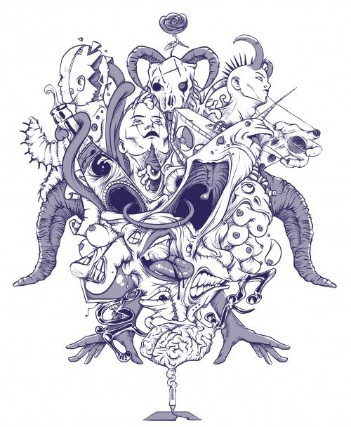Иллюстратор Simon Hartvig (150 работ)