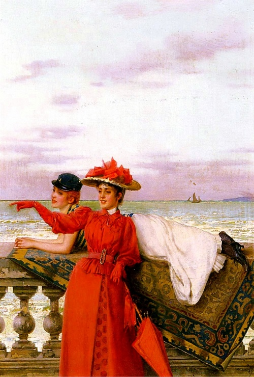 Подруги в живописи (127 работ)