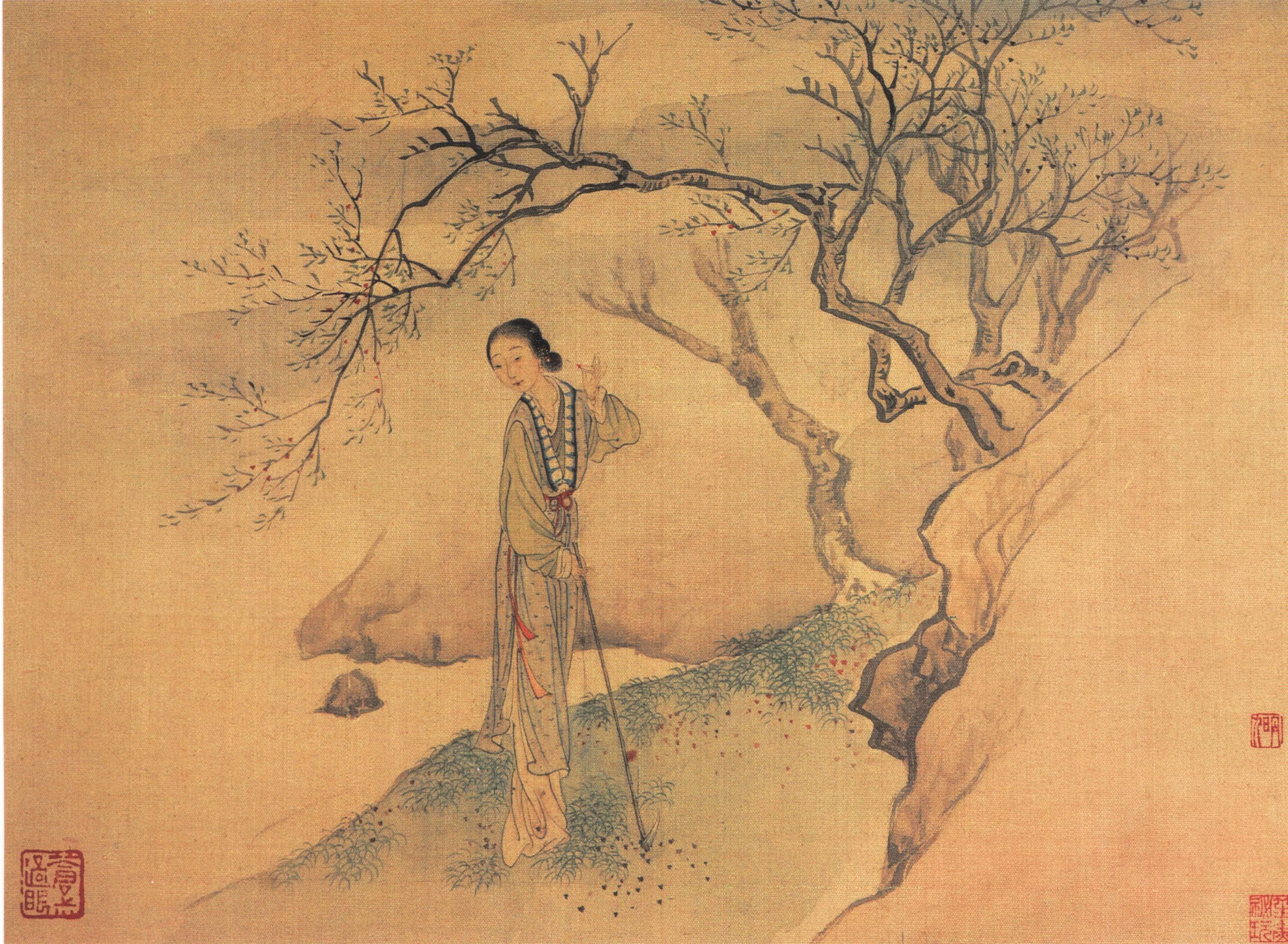 Эротическая живопись китая 21 фотография