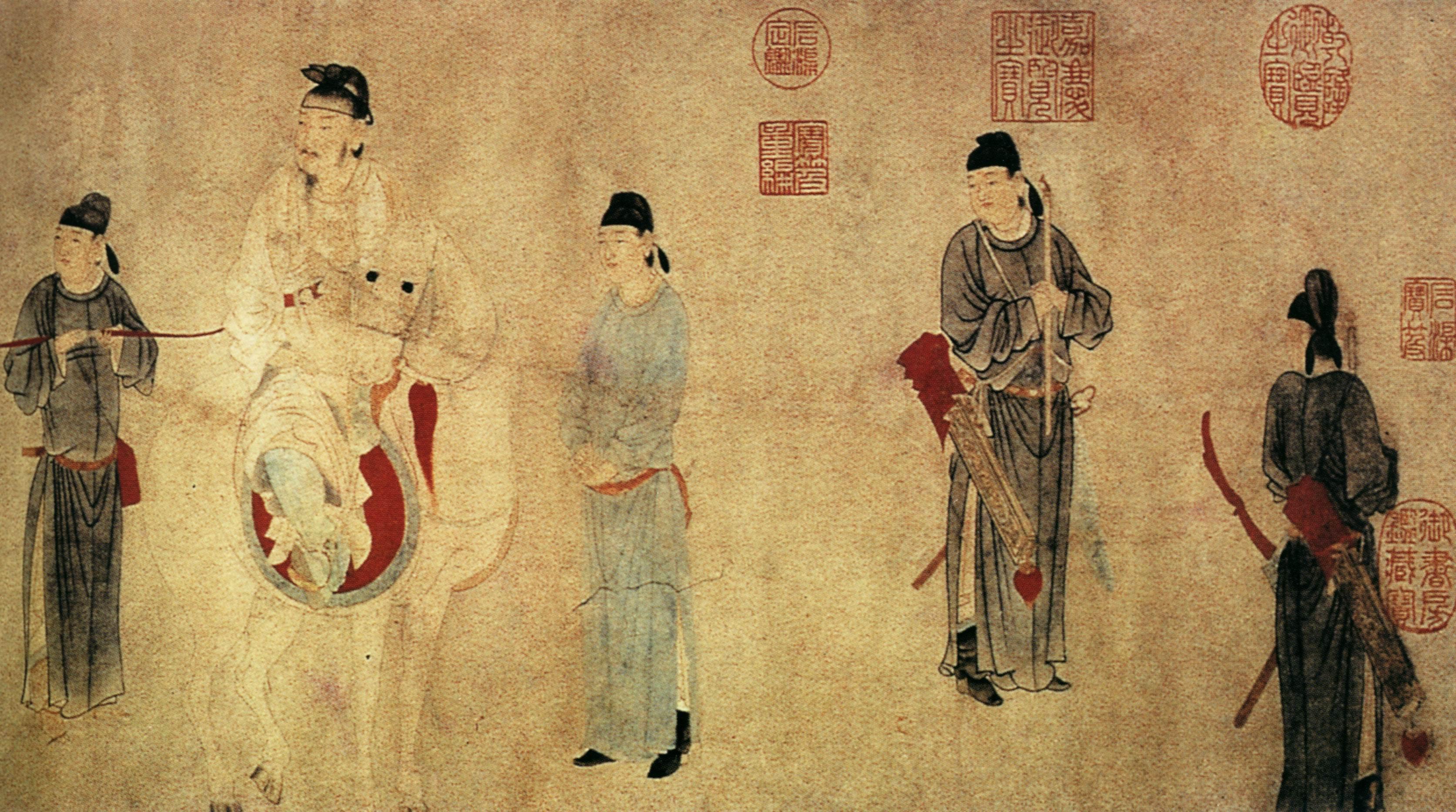 Живопись Древнего Китая Шпаргалка