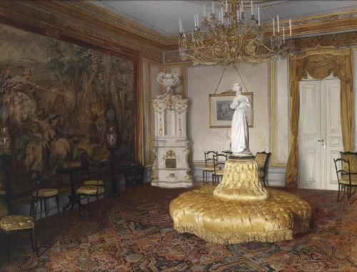 Художник Johann Hamza (Austrian, 1850-1927)