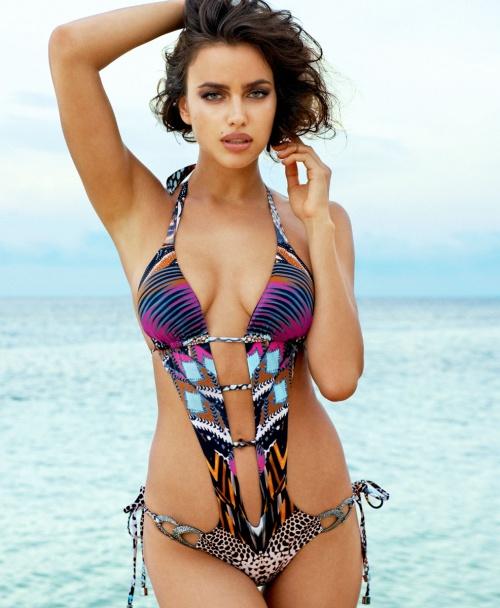 Irina Shayk - Beach Bunny Swimwear 2014 (38 фото)
