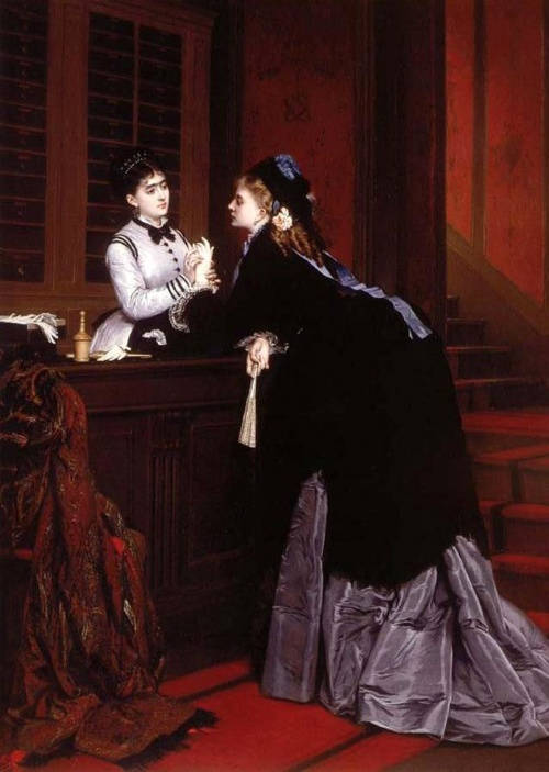Французский художник Jules Emile Saintin (1829-1894) (21 работ)