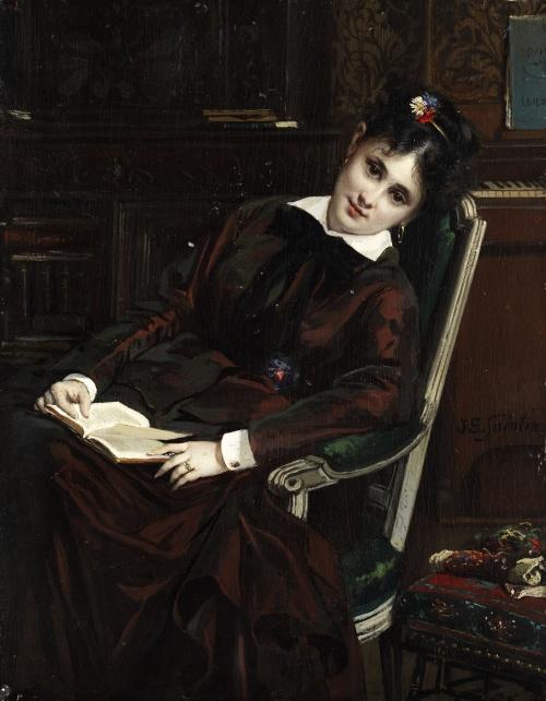Французский художник Jules Emile Saintin (1829-1894) (21 фото)