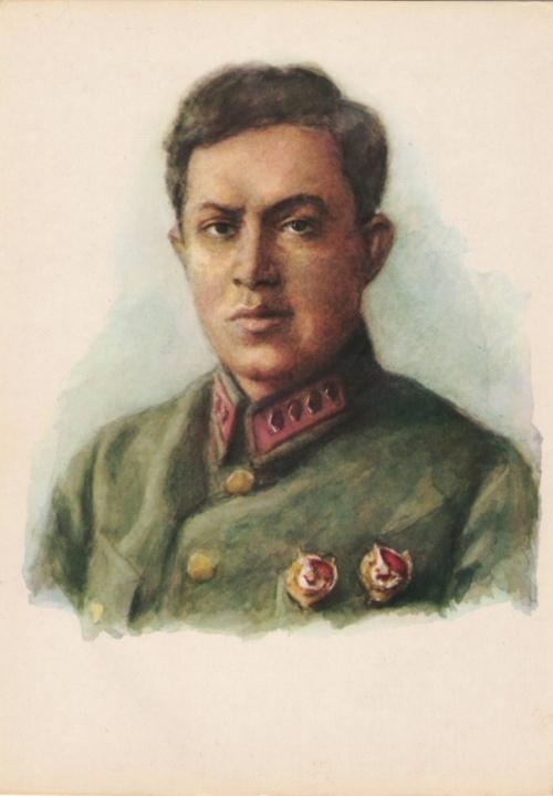 Набор открыток Советские Военачальники-Герои Гражданской Войны (28 фото)