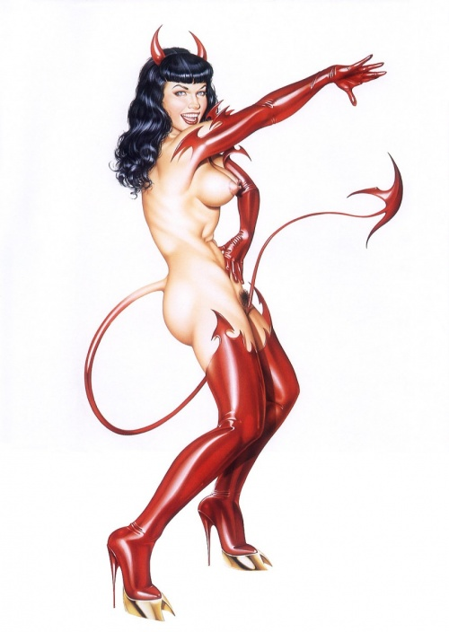 Art Fantastix - The Art of Ricky Carralero (40 фото)