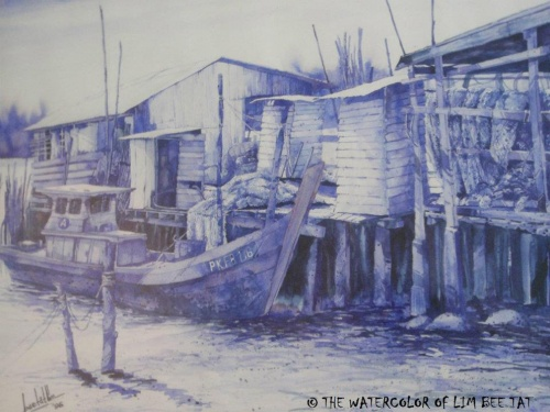 АКВАРЕЛЬ Bee Tat Lim (90 фото)