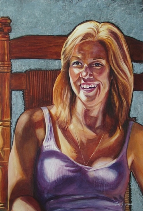 Портреты Tuva Stephens (50 работ)