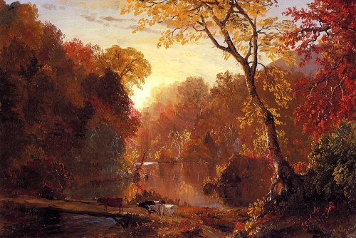 Artworks by Frederick Edwin Church (179 работ)