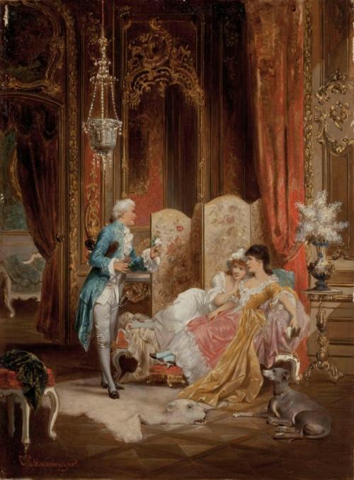 Художник Carl Schweninger (1854-1903) (46 работ)