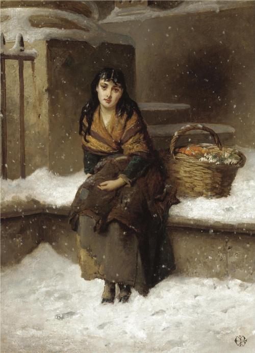 Английский художник Edward Charles Barnes (British, circa 1830-1882) (47 работ)