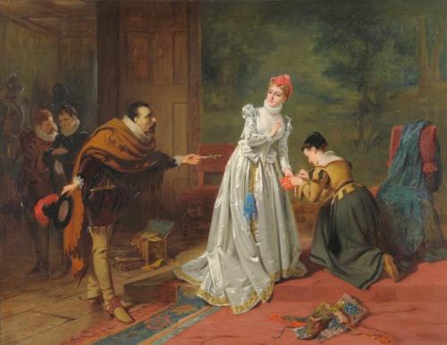 Английский художник Edward Charles Barnes (British, circa 1830-1882) (47 фото)