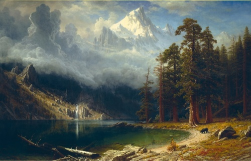 Albert Bierstadt Paintings (121 фото)