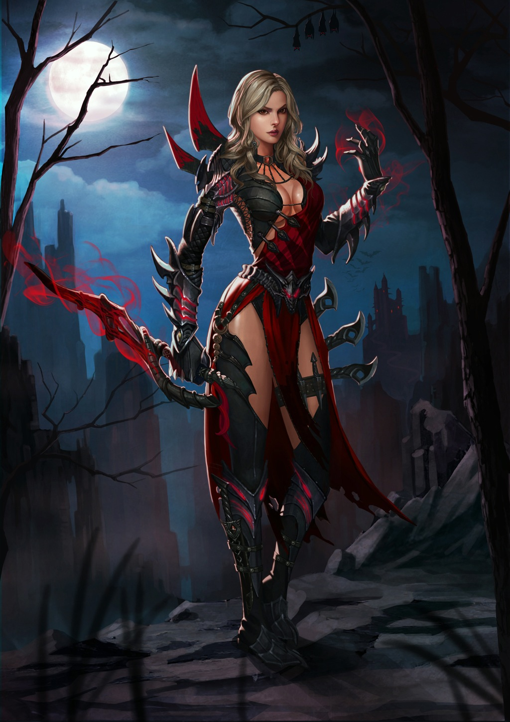 Hot blood elf and night elf female  sexy tubes