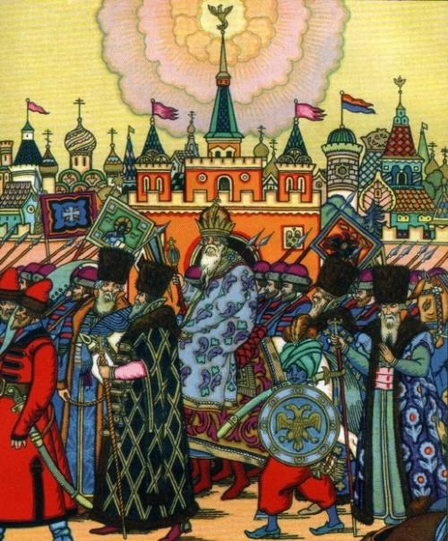 Классика детской иллюстрации - Зворыкин Борис Васильевич (71 работ)