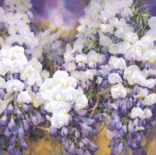 Цветы художника Darryl Trott (41 фото)