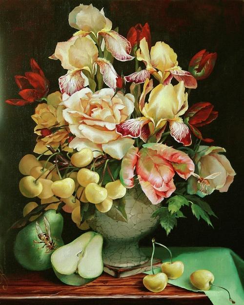 Работы художника Ira Rom-Lorenz (33 фото)