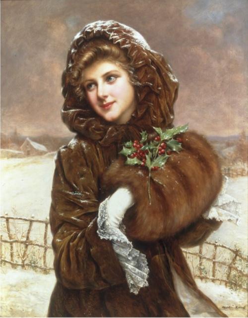 Французский художник Francois Martin-Kavel (French, 1861-1931) (59 работ)
