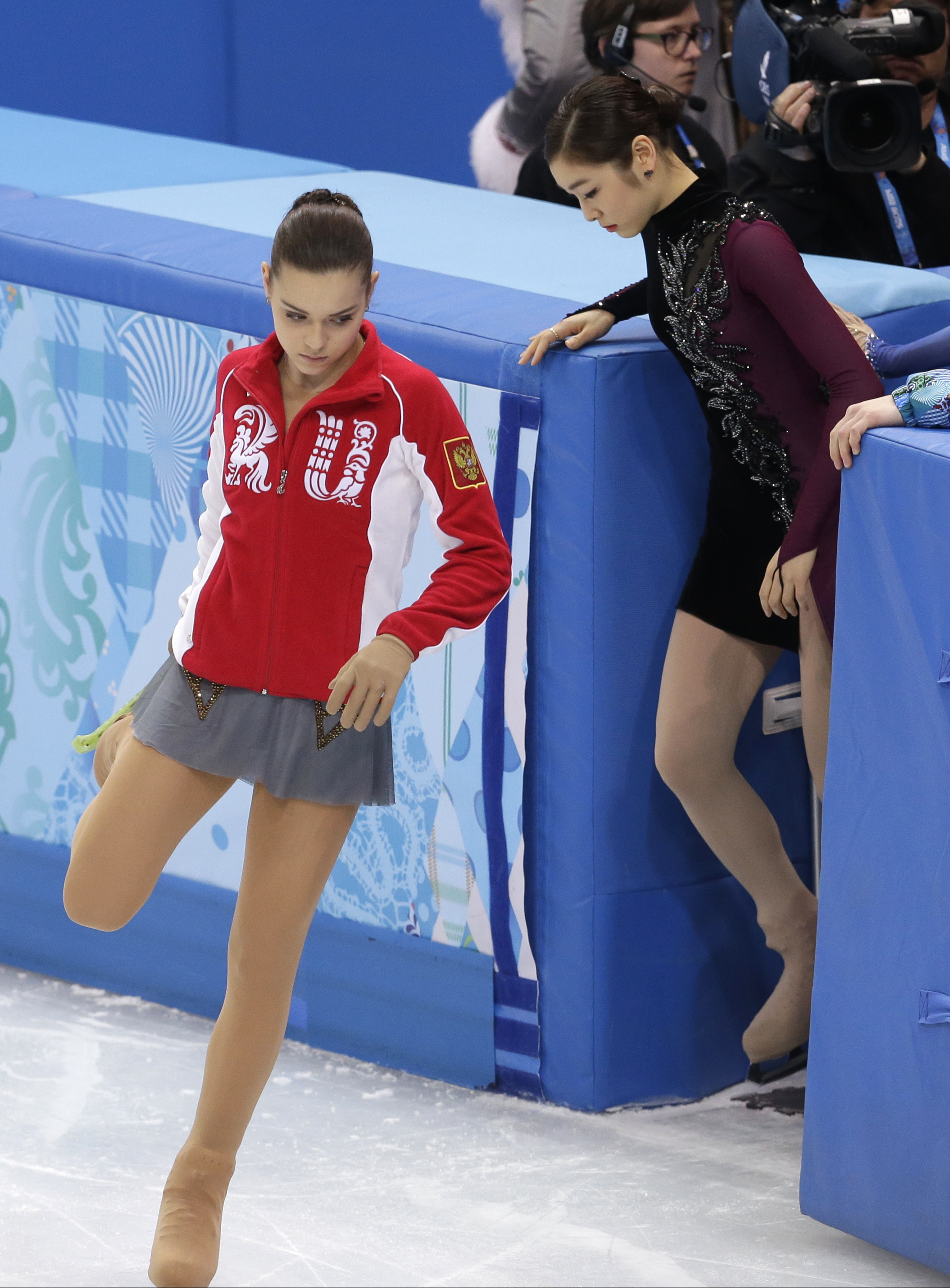 Аделина Сотникова  российская фигуристка олимпийская