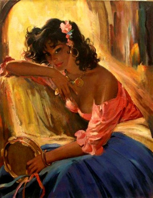 Американский художник Rico Tomaso (Рико Томазо) (1895–1985) (82 работ)