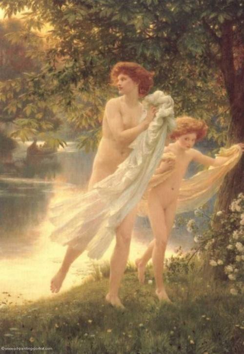 Английский художник Francis Bernard Dicksee (Фрэнсис Бернар Дикси) (72 работ)