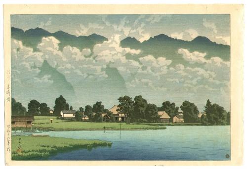 Японский художник Kawase Hasui (Кавасе Хацуи) (307 работ)