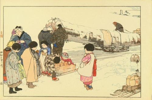 Японский художник Hiroshi Yoshida (Хироши Йошида) (296 фото)