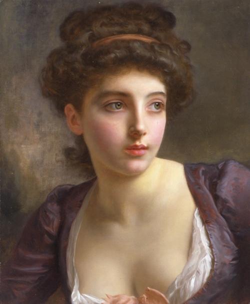 Французский живописец Гюстав Жан Жаке (Gustave Jean Jacquet) (140 работ)
