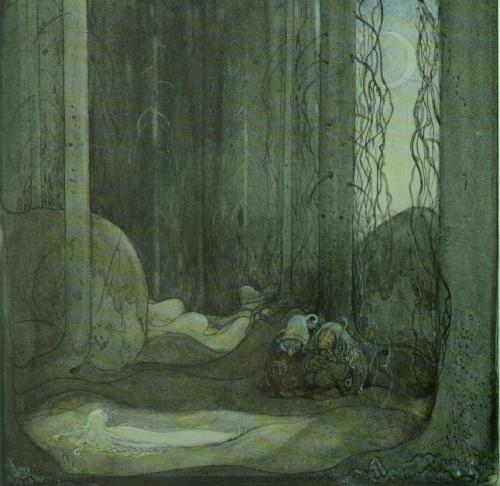 Шведский художник и иллюстратор - John Bauer (Йон Бауэр) (49 работ)