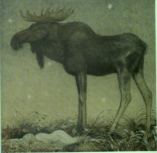 Шведский художник и иллюстратор - John Bauer (Йон Бауэр) (49 фото)