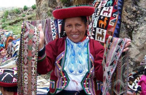 Перуанский национальный костюм (21 фото)