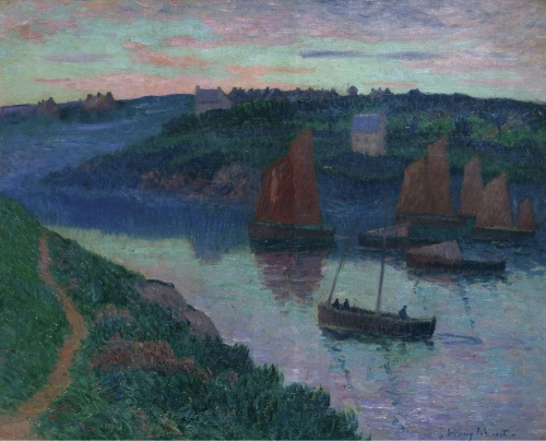 Artworks by Henry Moret (190 работ)
