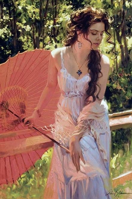 Гармония красок. линий и форм... Художник Richard S. Johnson (33 фото)