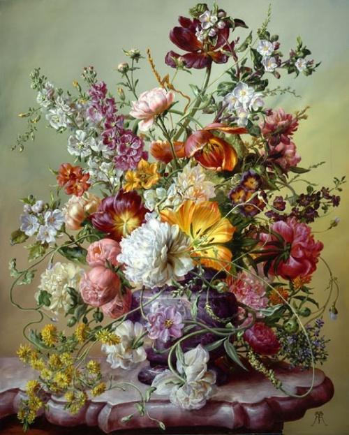 Цветы от Дьюла Шишка (Gyula Siska) (26 фото)
