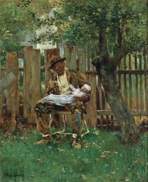 Американский художник Francis Coates Jones (American, 1857-1932) (48 работ)