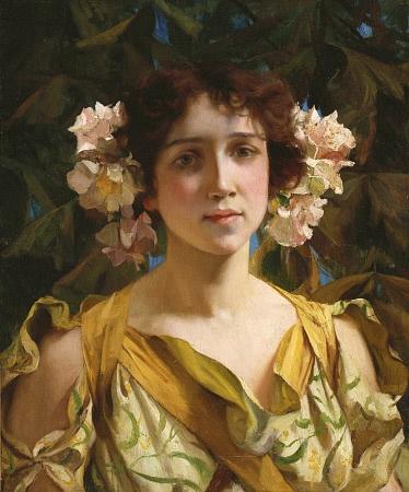 Американский художник Francis Coates Jones (American, 1857-1932) (48 фото)