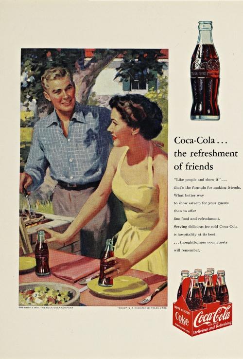 Рекламный арт 20-50-х прошлого века (50 фото)