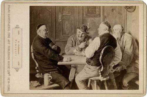 Немецкий художник Eduard Theodor Ritter von Grutzner