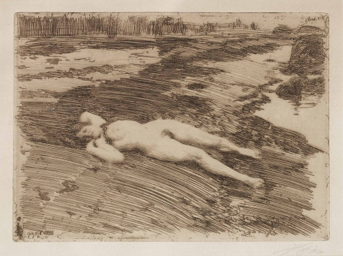 Artworks by Anders Zorn (2 часть)
