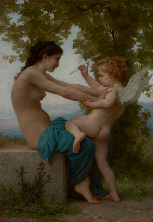 Artworks by William-Adolphe Bouguereau (330 работ)